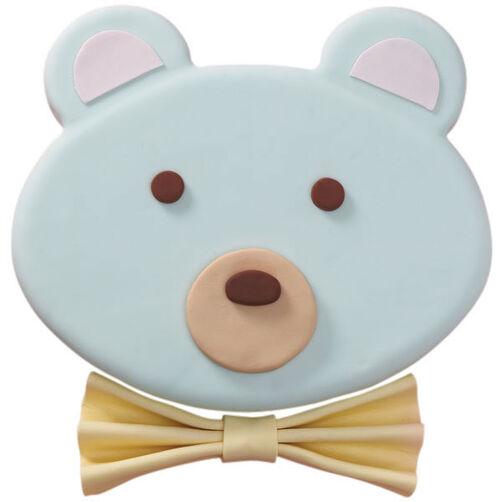 Baby Blue Teddy Bear Cake
