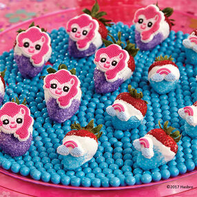 My Little Pony Dipped Strawberries