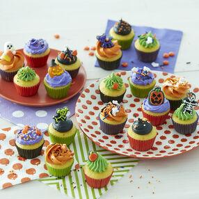 halloween mini cupcakes