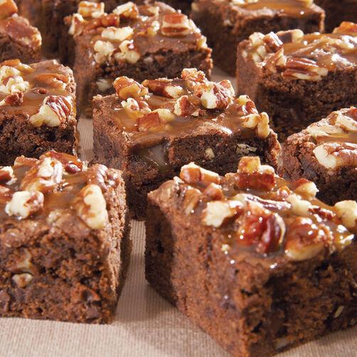 http://www.wilton.com/caramel-pecan-brownies/WLRECIP-320.html