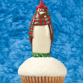 Penguin At The Peak Cupcakes