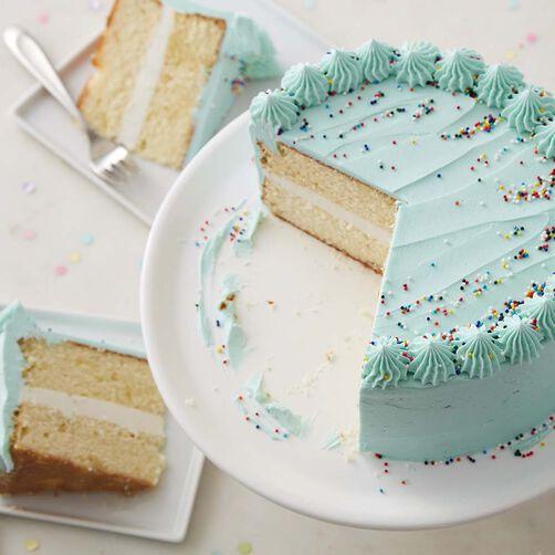 Classic Happy Birthday Cake