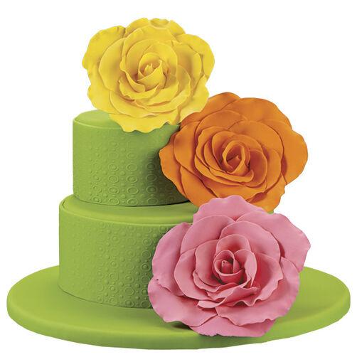 Corsage Colorama Cake