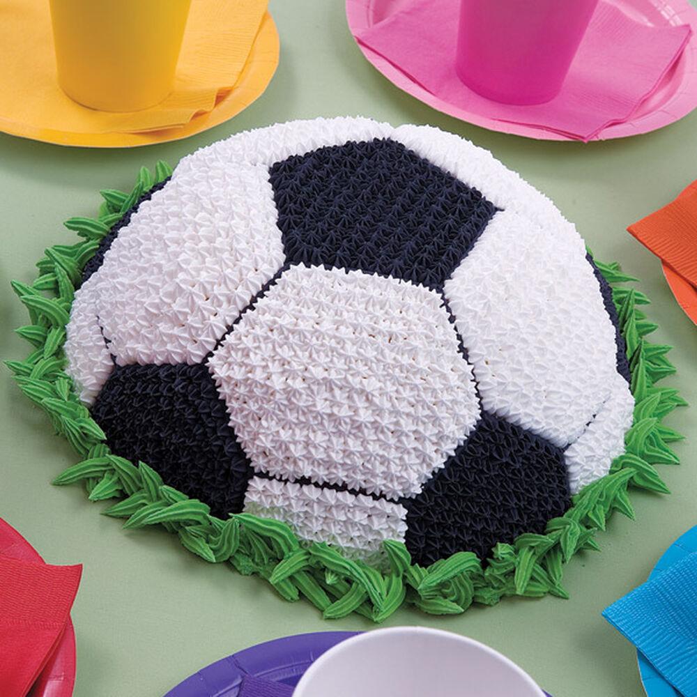 Торт в форме футбольного мяча своими руками 8
