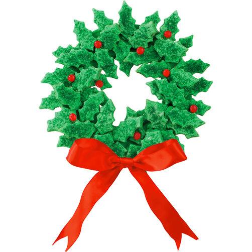 Wreaths of Holly Cookies