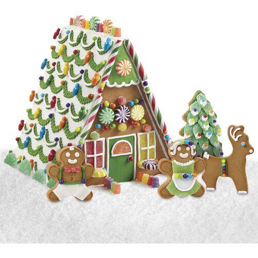 Sensational Gingerbread House Scene Sensational Scene House #1
