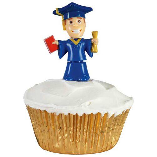 Bobbling Grads Cupcakes
