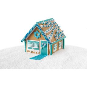 Add Sparkle to the Celebration Gingerbread House #2