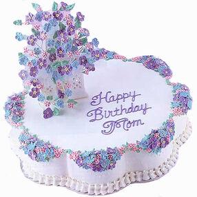 Mom's Garden Gazebo Cake