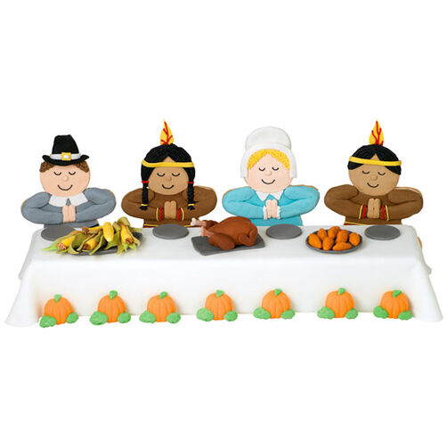 Wilton Cake Ideas For Thanksgiving : The First Thanksgiving Cake Wilton