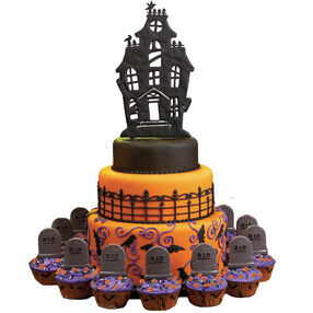 Halloween Homebodies Cake