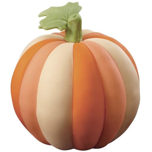 Mini Tri-Tone Pumpkin Cakes
