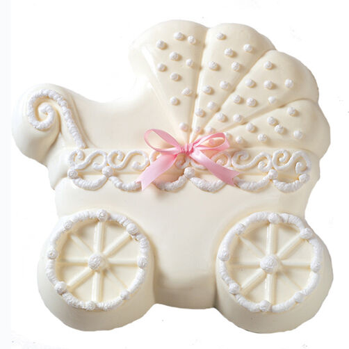White Mousse Magic Baby Buggy