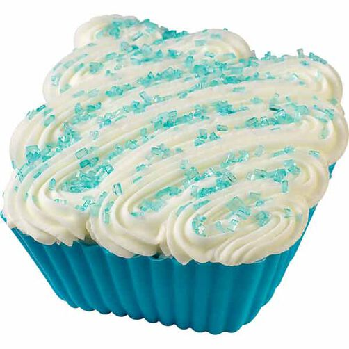 Blue Diamond Cupcake
