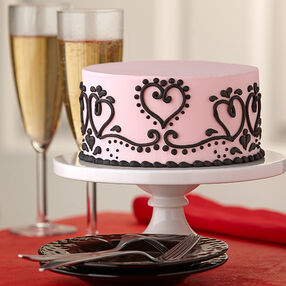 Paisley Passion Valentine Cake