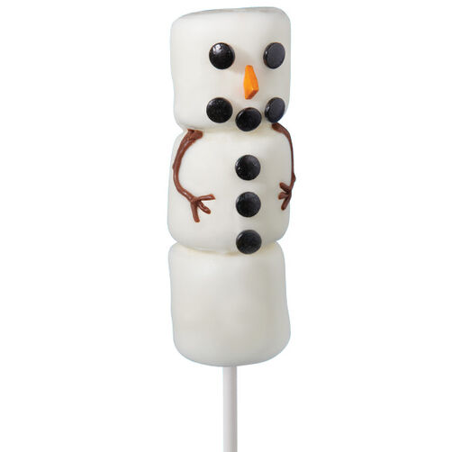 Marshmallow Fellows Snowman Pops