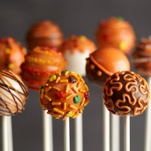 Free Shipping Sites >> Pumpkin Spice Cake Pops | Wilton