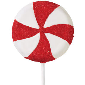 Eyepopping Pinwheel Cookie Pops