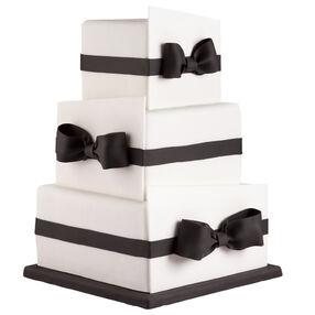 Tuxedo Bows Cake