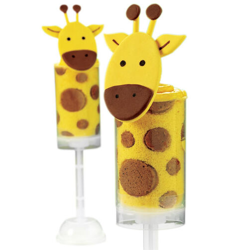Neck & Neck Giraffe Treat Pops