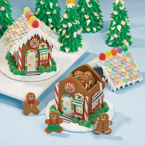 Let's Raise the Roof! Gingerbread House