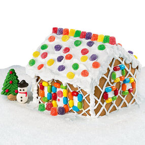 Winter Retreat Gingerbread House