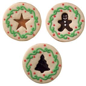 Santa's Sandwich Cookies