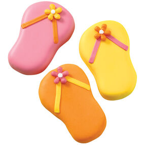 Flip Flop and Fly! Mini Cakes