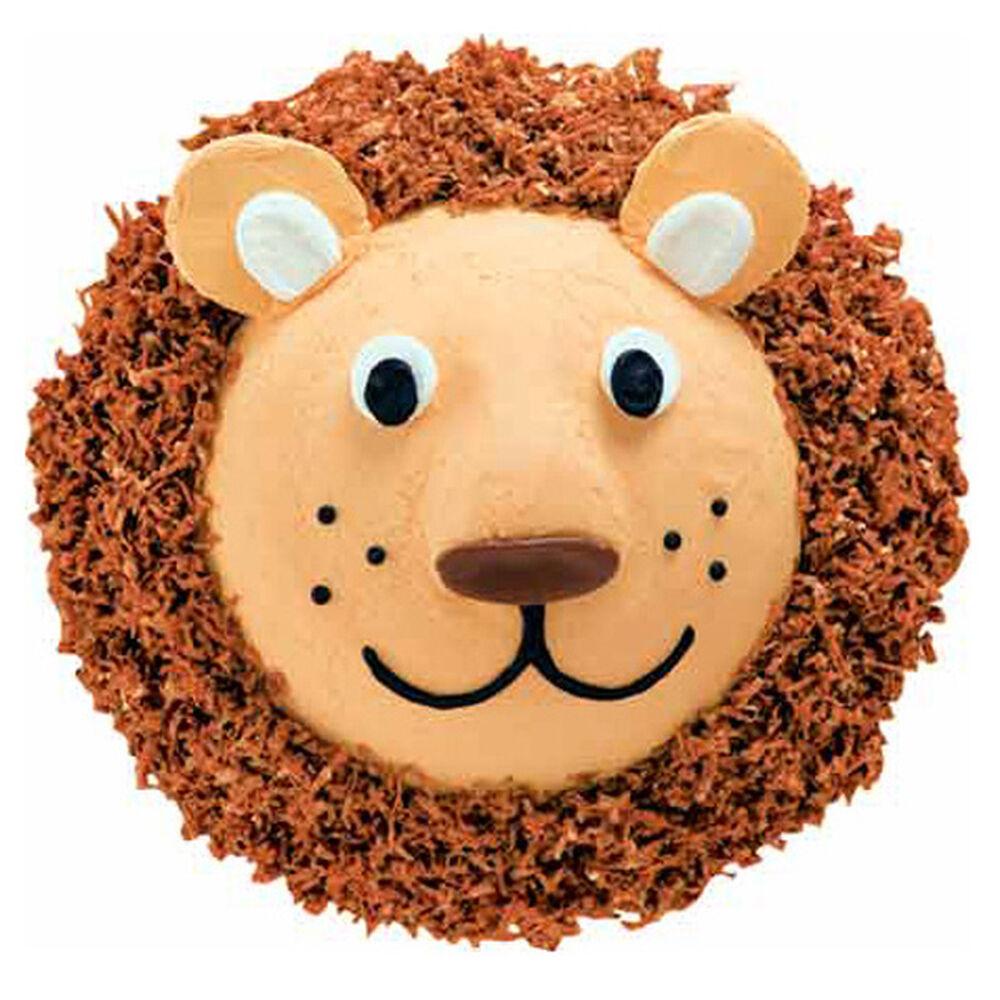 Lovable Lion Cake Wilton