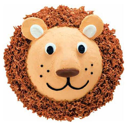 Lovable Lion Cake