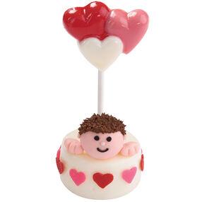 Sharing His Love Mini Cake