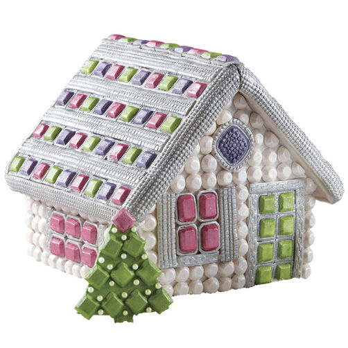 Yule Jewel Gingerbread House
