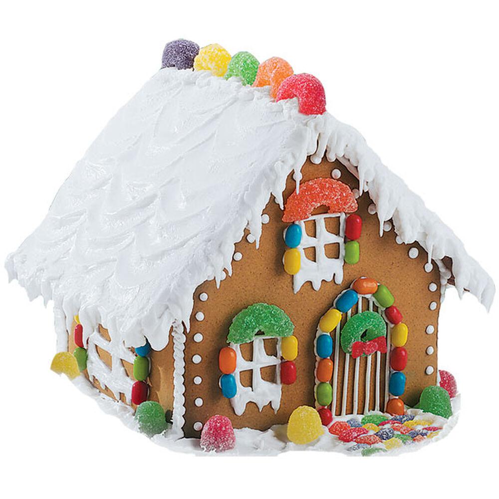 Gumdrop Gingerbread House