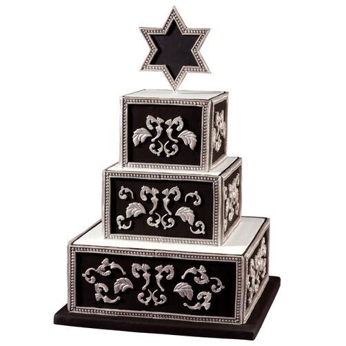 A New Chapter Bar Mitzvah Cake