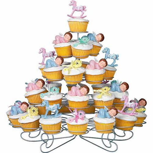 Baby shower cupcakes wilton - Wilton baby shower cake toppers ...