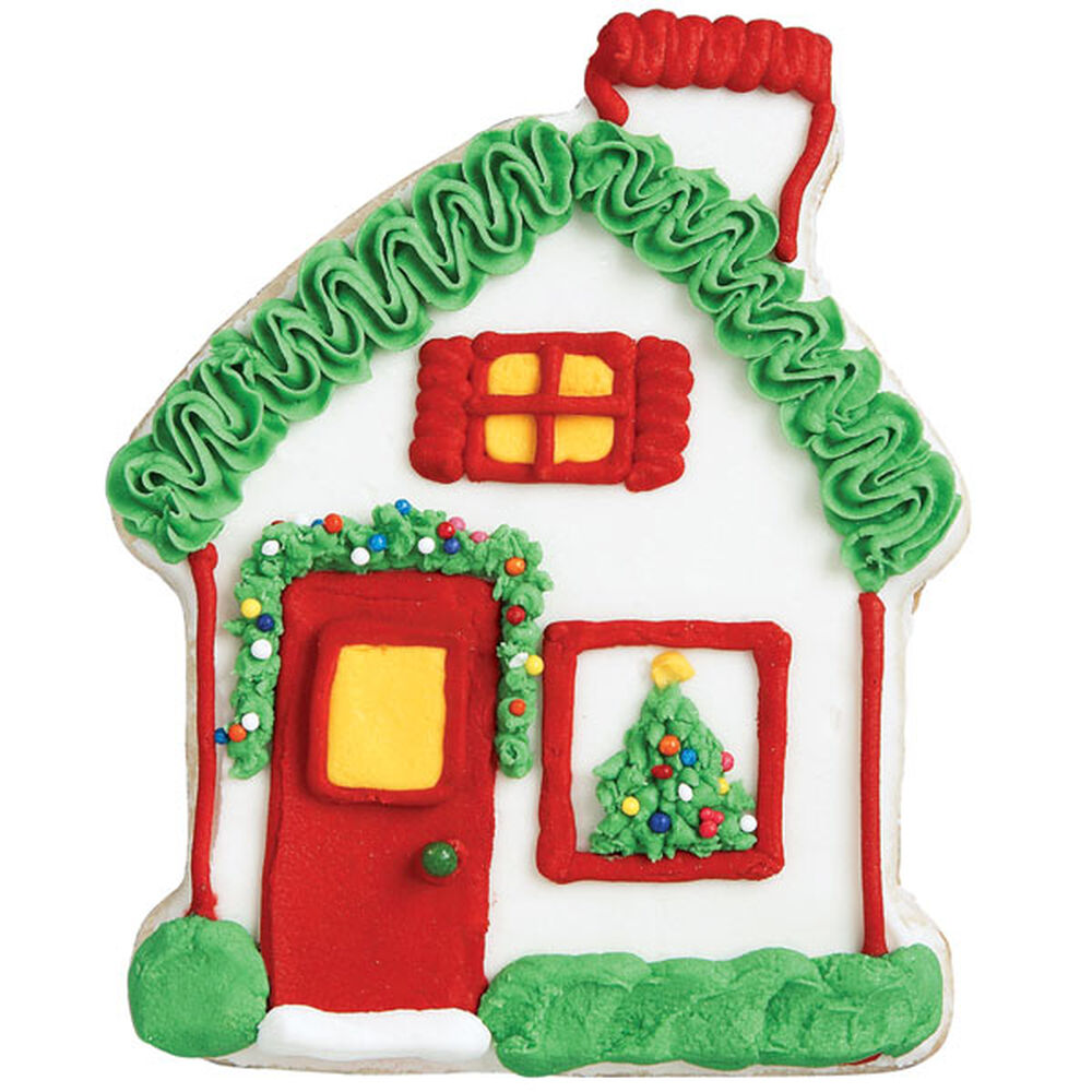 Loblaws Christmas Decorations: Red Door Retreat Gingerbread House Cookie