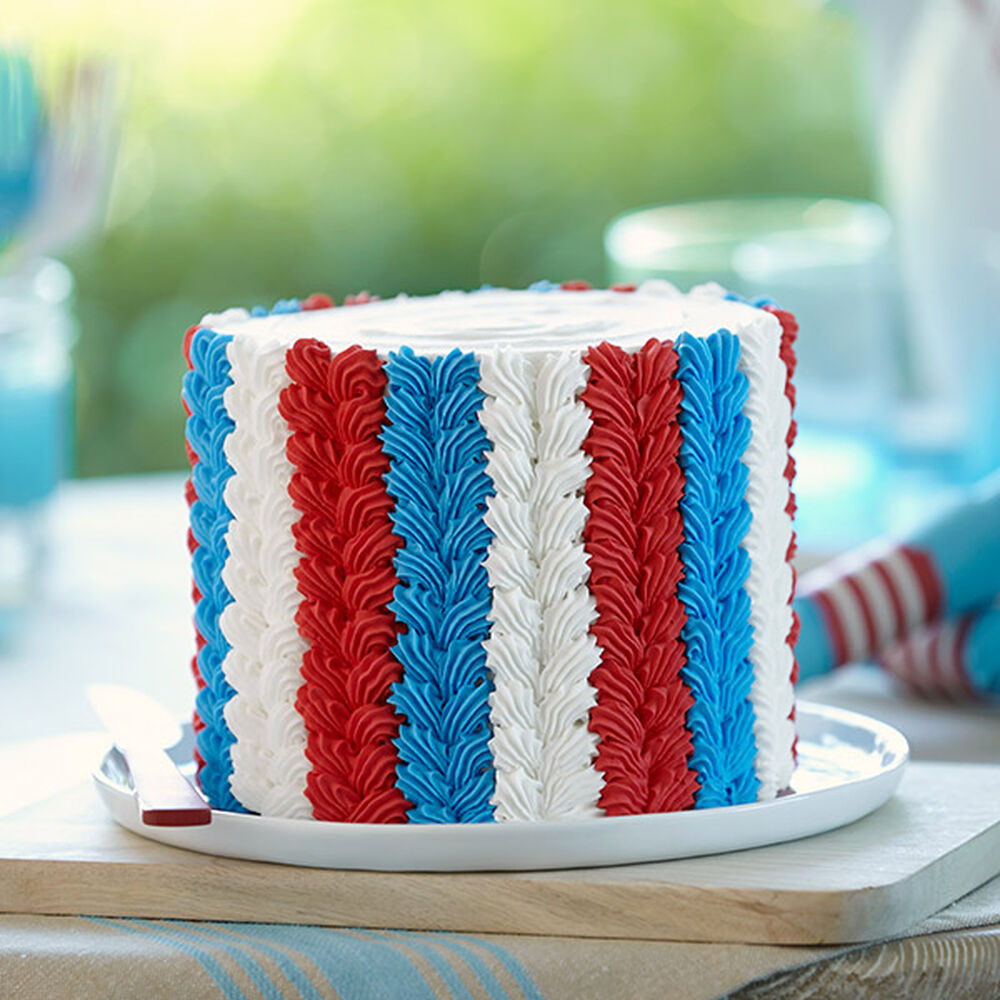 Inspired Independence Cake | Wilton