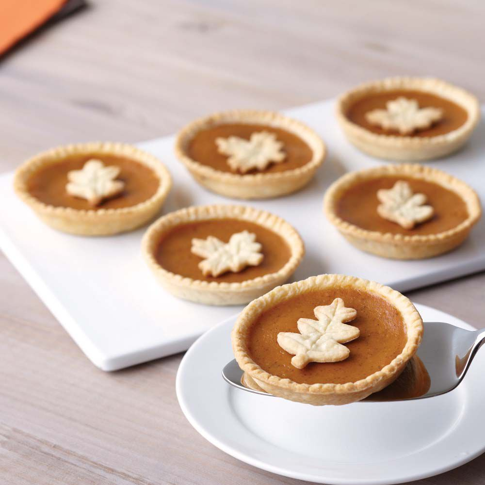 Mini Pumpkin Pies Recipe Wilton
