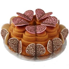 Hearts Aflutter Cake