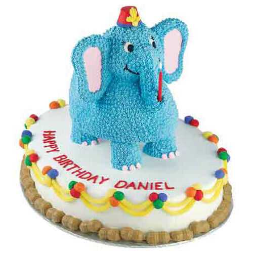 Birthday Elephant Cake