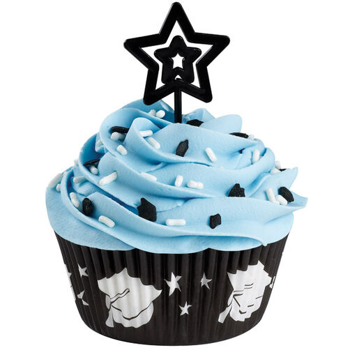 Star Graduate Cupcake