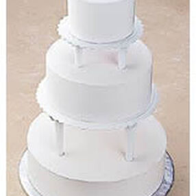 Push-In Tiered Cake Construction