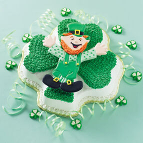 Green Greetings Cake