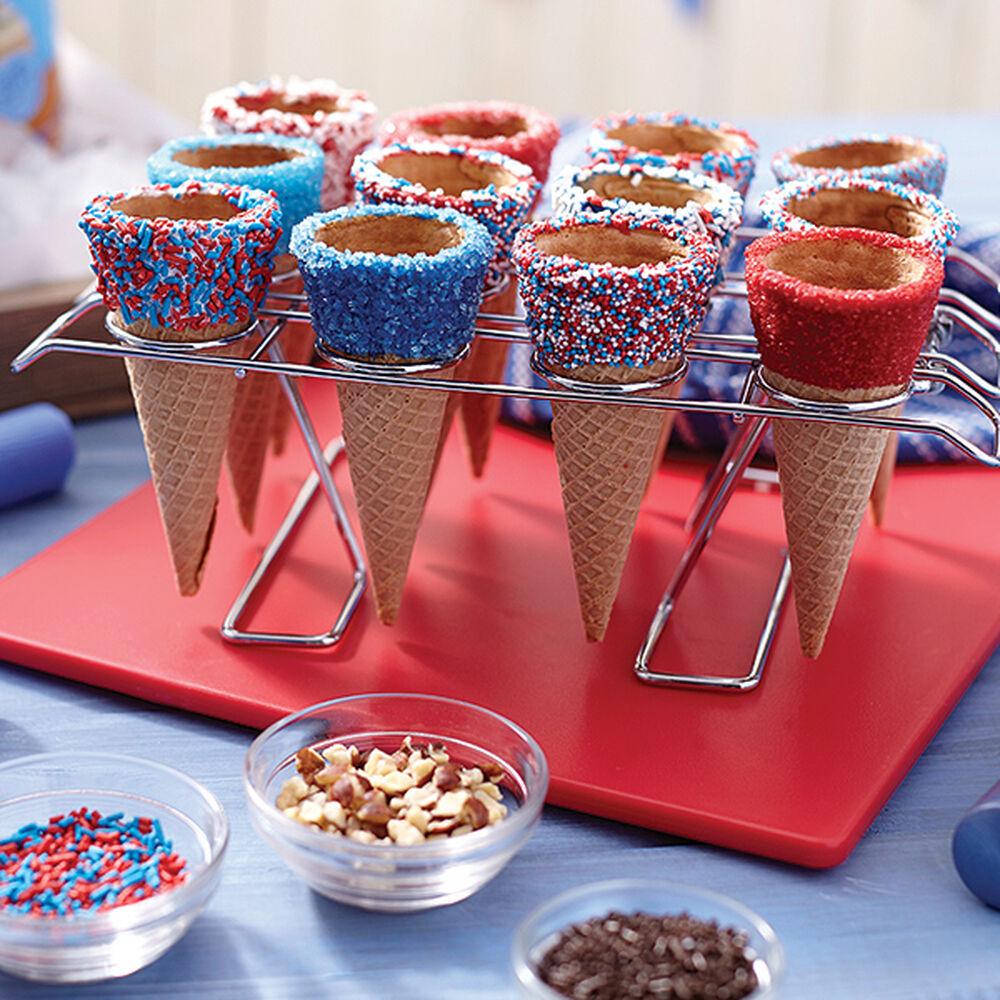 Dipped Ice Cream Cones Recipe Wilton