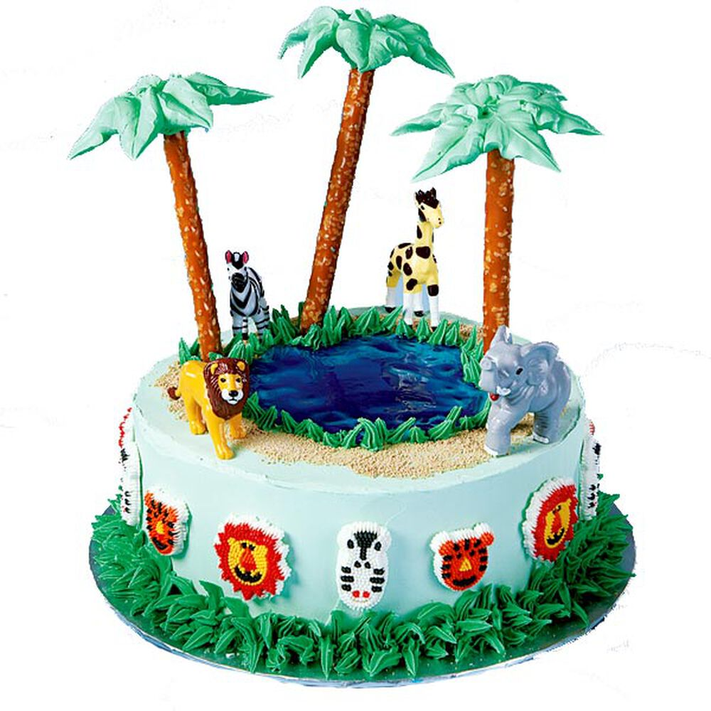 Wildlife Safari Cake Wilton