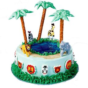 Wildlife Safari Cake