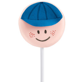 Baseball Boy Cookie Pop