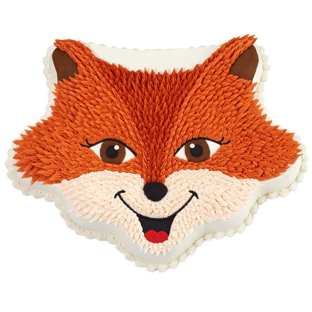 Sly Fox Party Cake Wilton