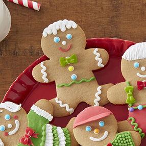 Gingerbread Boy with Wavy Trim