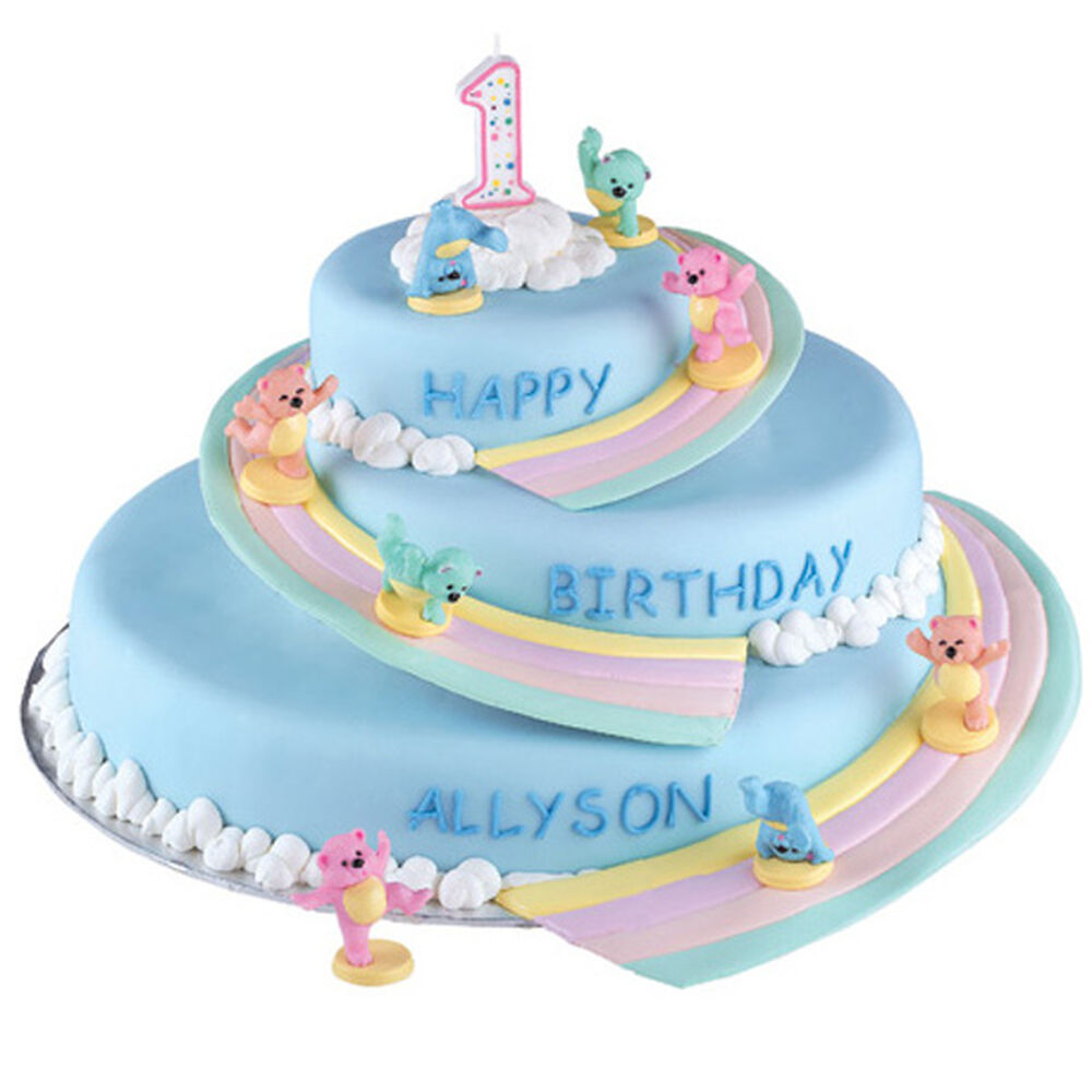 First birthday fling cake wilton - Wilton baby shower cake toppers ...